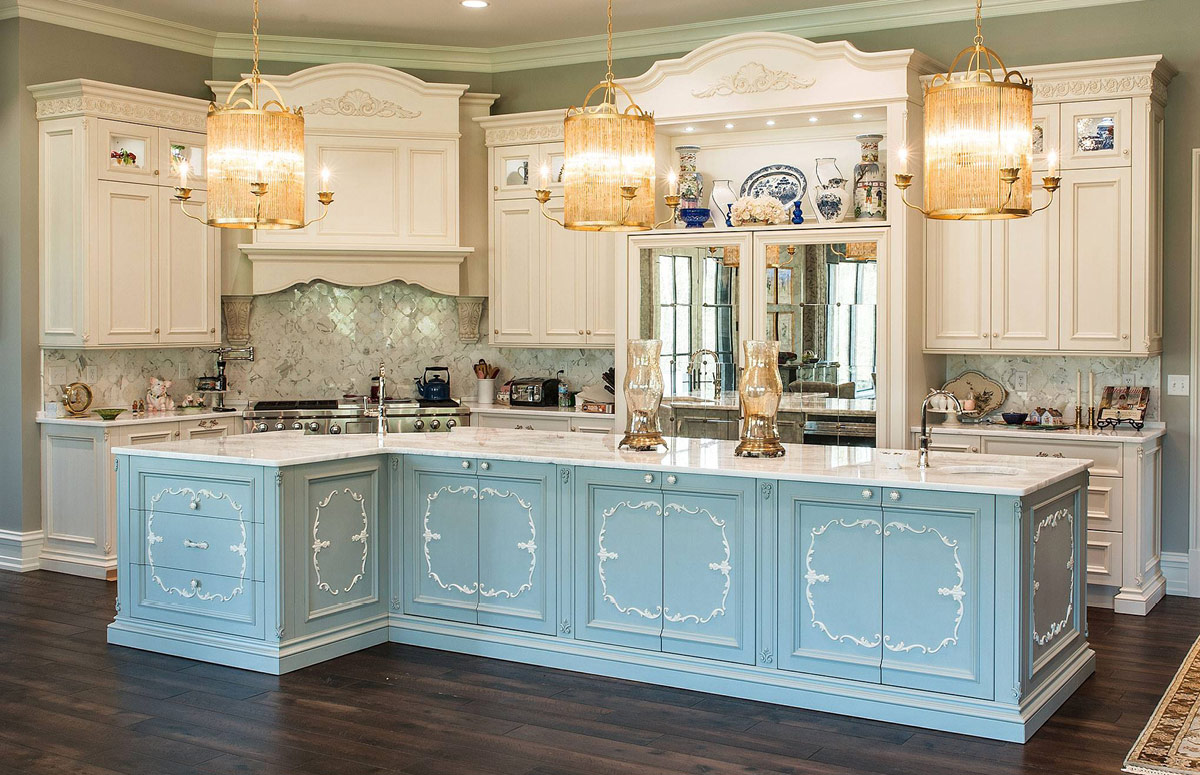INDIANAPOLIS, Usa – Custom kitchen units in private house