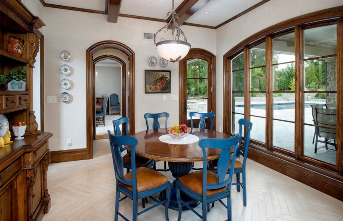 GREENWICH, Usa – Custom kitchen in private house