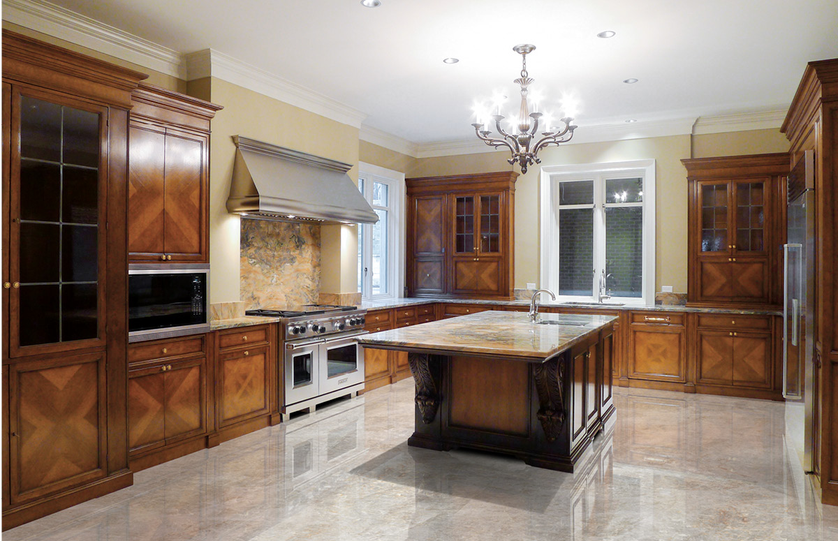 PITTSBURGH, Usa – Custom kitchen in private house