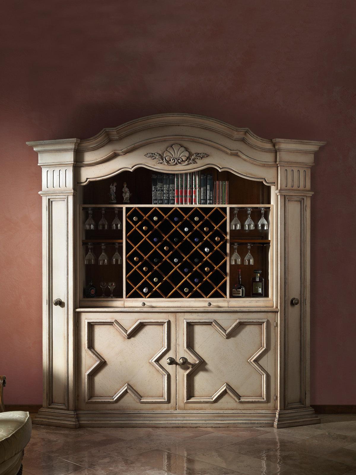 Wine cabinet Mod. B-1W – 235 x 56 h 240 cm