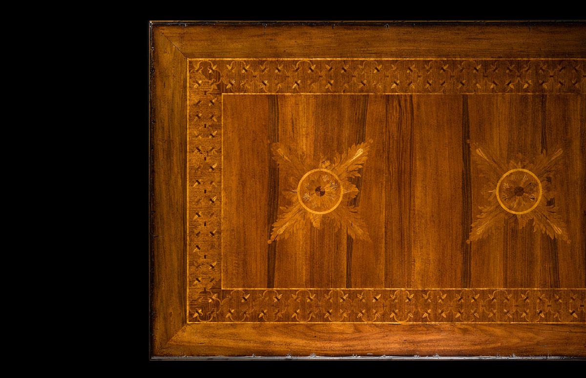 Rectangular table Mod. 821/R – 348 x 128 h 78 cm