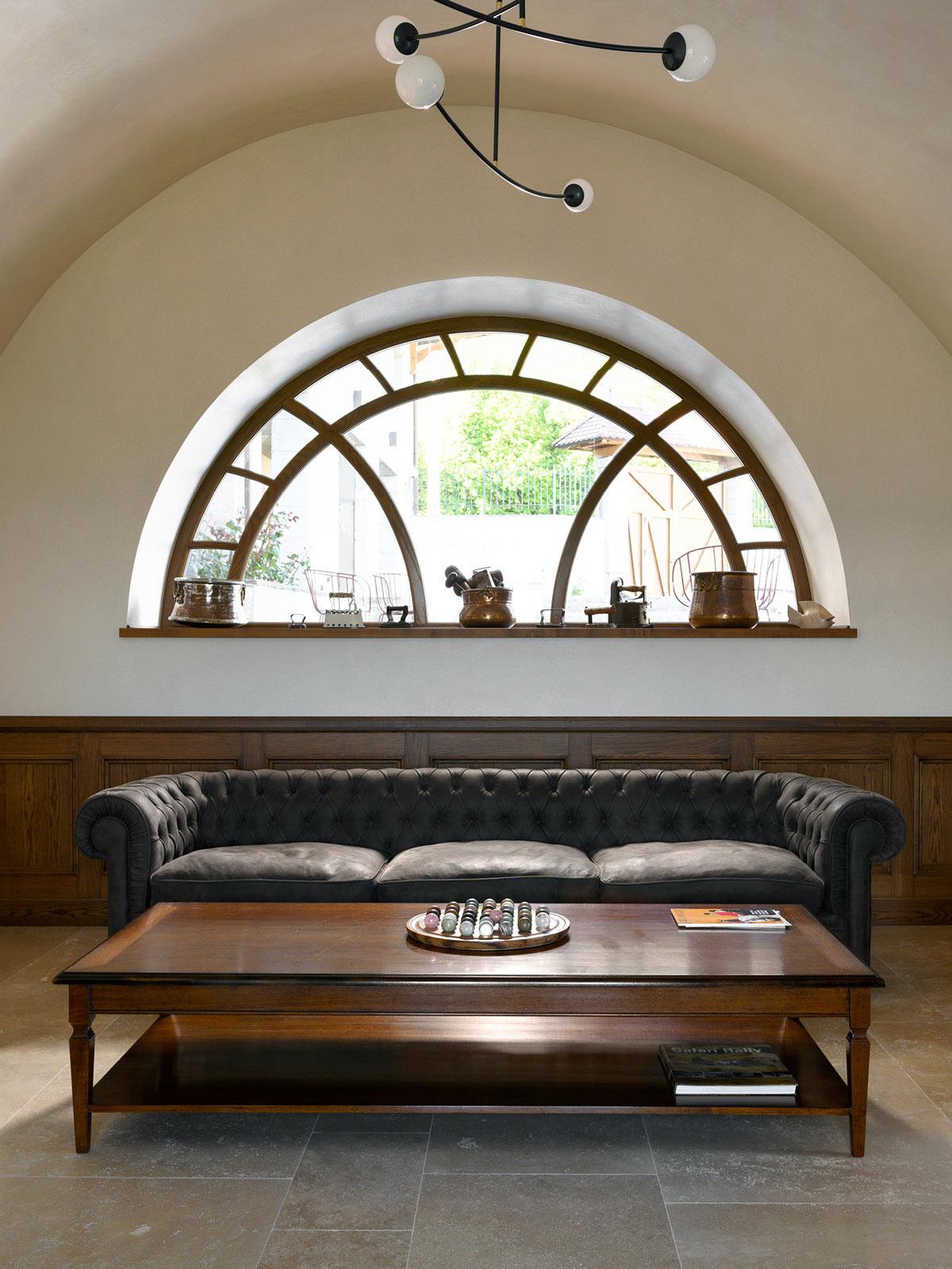 Custom coffee table – 180 x 100 h 50 cm