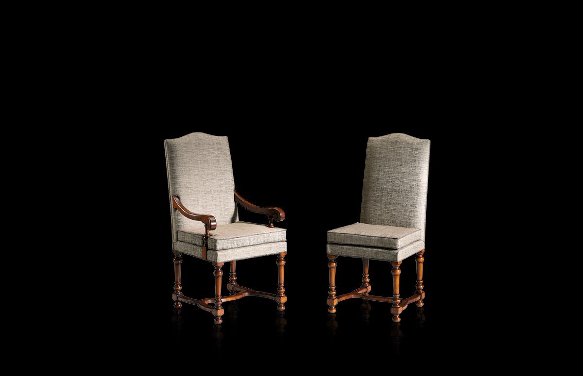 Chair and armchair – Mod. 97/C – 97/A