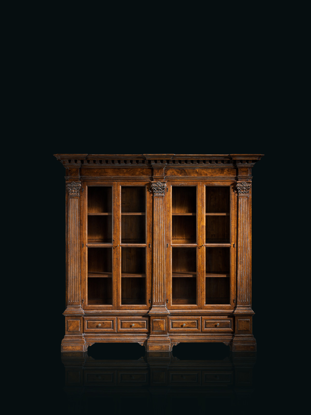 Bookcase Mod. C-1 – 244 x 60 h 224 cm